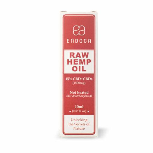 RAW Hemp Oil Drop 1500mg Box by Endoca