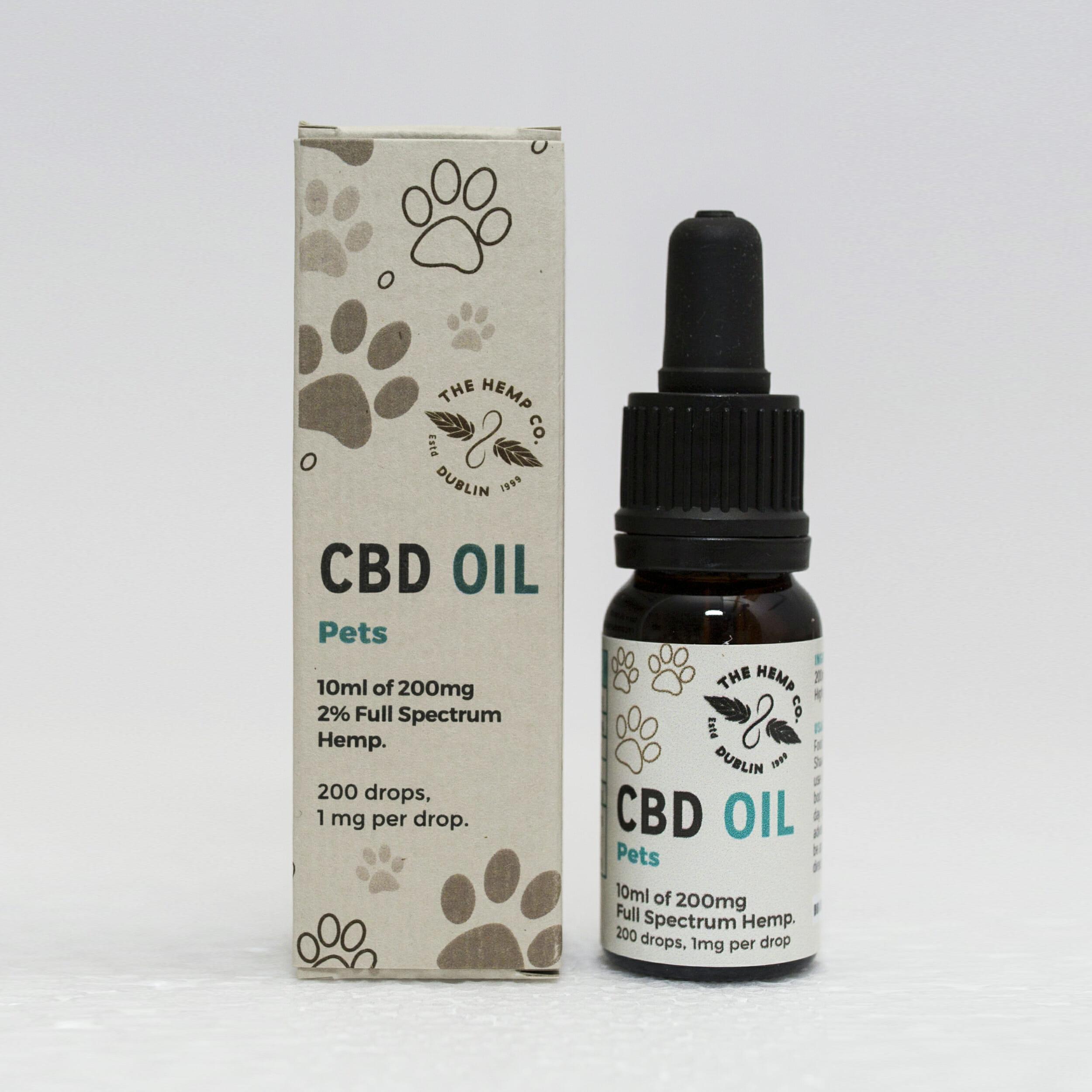 Hemp Company CBD Oil For Pets