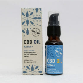 CBD Active Plus 20ml Display by Hemp Company