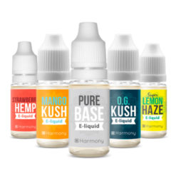 CBD E-Liquid All Flavours by Harmony