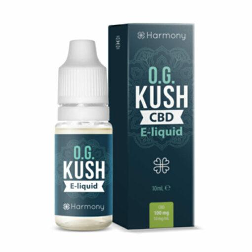 CBD E-Liquid OG Kush Flavour by Harmony