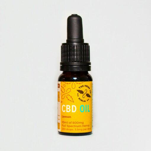 CBD Oil 10ml Lemon Bottle by Hemp Company