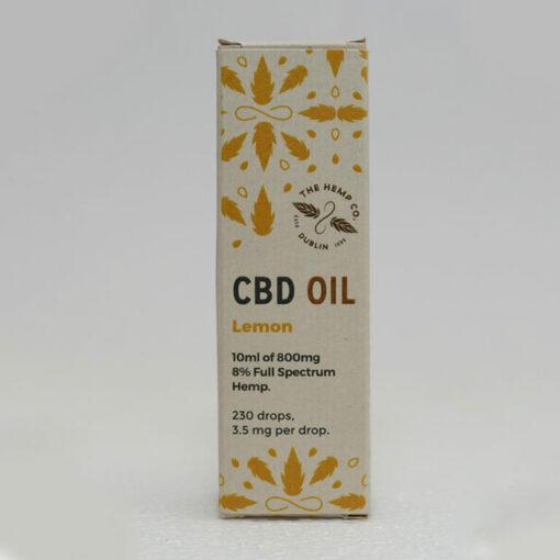 CBD Oil 10ml Lemon Box by Hemp Company
