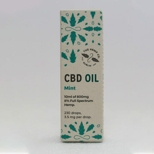 CBD Oil 10ml Mint Box by Hemp Company