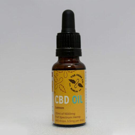 CBD Oil 20ml Lemon Bottle by Hemp Company