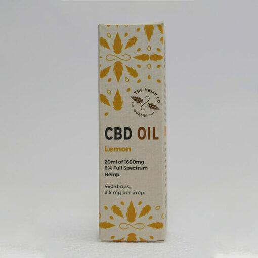 CBD Oil 20ml Lemon Box by Hemp Company