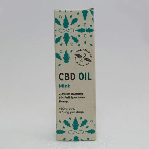 CBD Oil 20ml Mint Box by Hemp Company