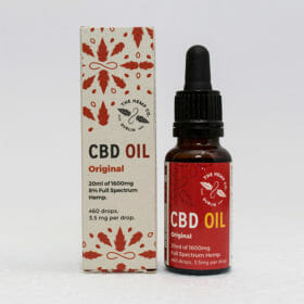 CBD Oil 20ml Original Display by Hemp Company