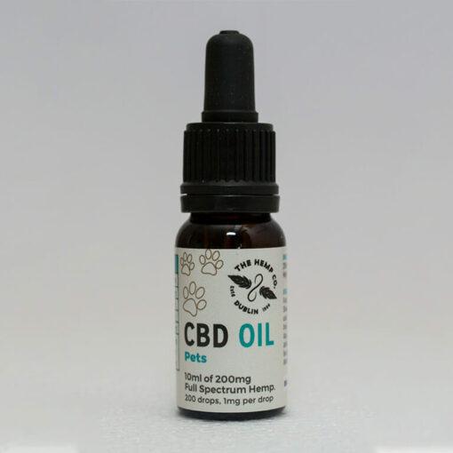 CBD Oil for Pets Bottle by Hemp Company
