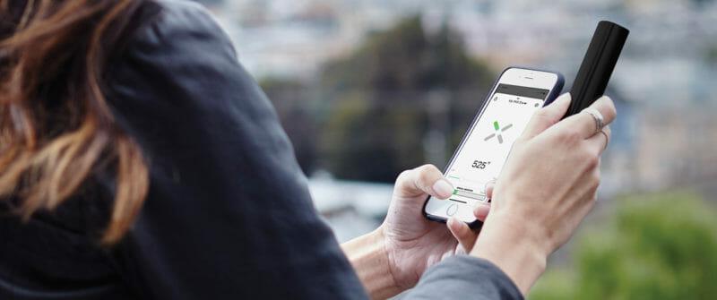 Mobile Phone App for Pax 3 Vaporiser