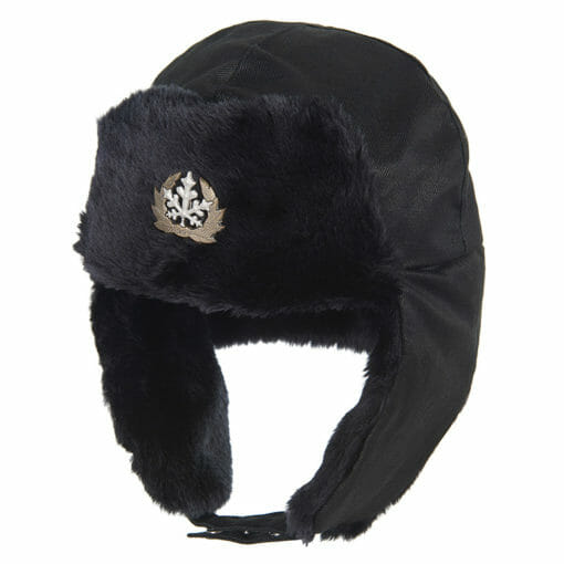 Ruderalis Hat Ladies and Mens Black