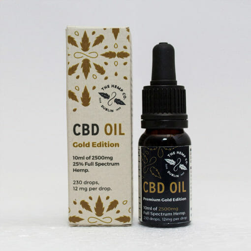 Gold Edition CBD Oil by Hemp Company
