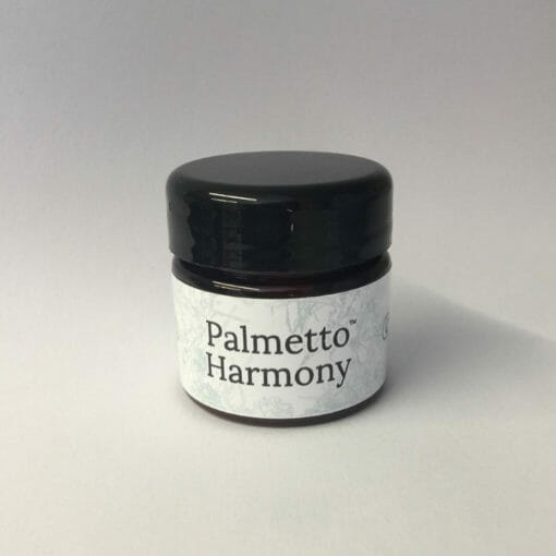 Sample tub of shea butter cream for skin by Palmetto Harmony