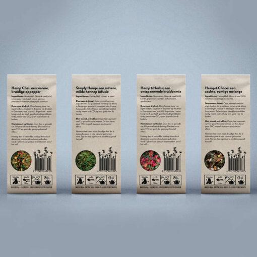 Hemp Tea Ingredients by Dutch Harvest