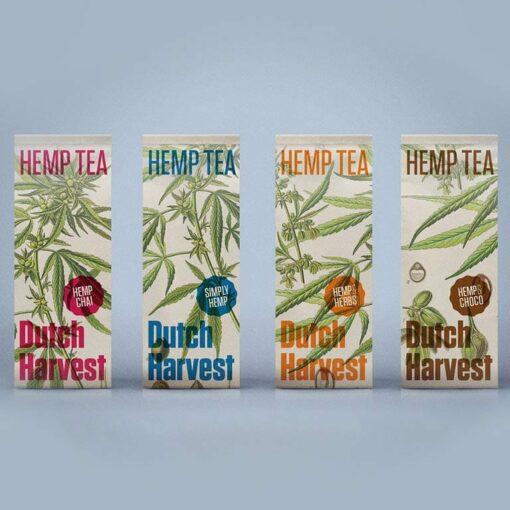 Hemp Tea Selection by Dutch Harvest