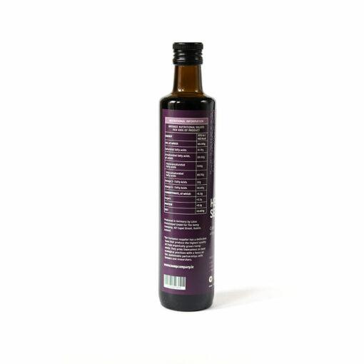Hemp Seed Oil 500ml Label by Hemp Company