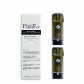 Changable prefilled cartridges for vape pens by Palmetto Harmony