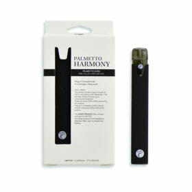 Vape pen with pre-filled e-liquid/vape oil by Palmetto Harmony