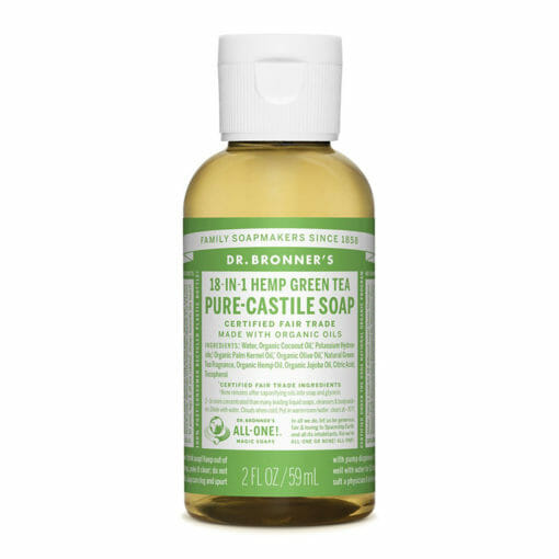 Pure Castile Liquid Soap Green Tea by Dr. Bronner's