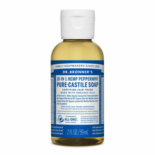 Pure Castile Liquid Soap Peppermint by Dr. Bronner's
