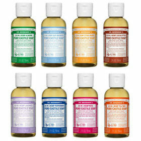Pure Castile Liquid Soap by Dr. Bronner's