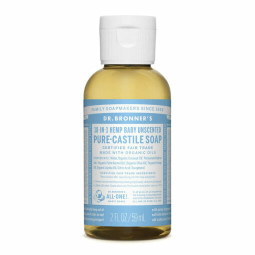 Pure Castile Liquid Soap Unscented by Dr. Bronner's