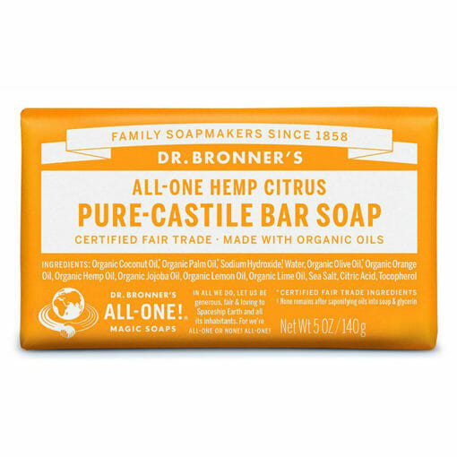 Pure Castile Bar Soap Citrus by Dr. Bronner's