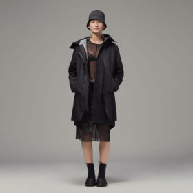 Ladies dual layer parka suitable for all occasions by Hemp Tailors