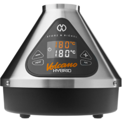 Front facing view of the Volcano Hybrid dry herb Vaporizer from Storz & Bickel