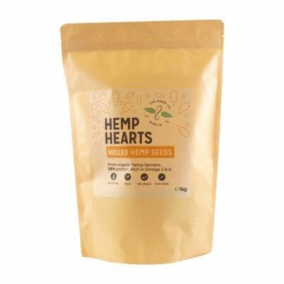 Hulled Hemp Seed Hearts 1 kilogram Hemp Company