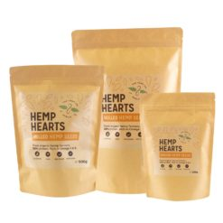 Hulled Hemp Seeds Selection by Hemp Company