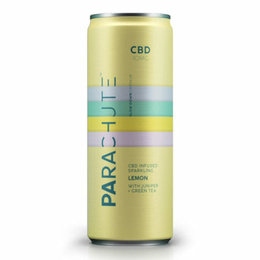 Lemon flavored CBD based soft drink by Parachute