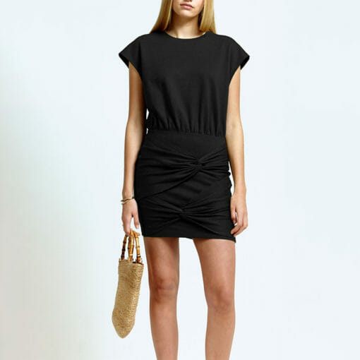 Ladies Fitted Back Strap Dress by Hemp Tailors