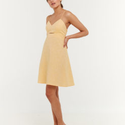 Lady Baby Doll Dress by Hemp Tailor