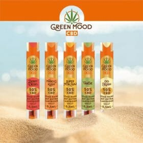 Vave hemp extract cartridge full range by Green Mood