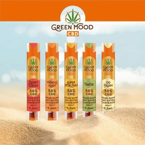 Vave hemp extract cartridge full range by Green Mood