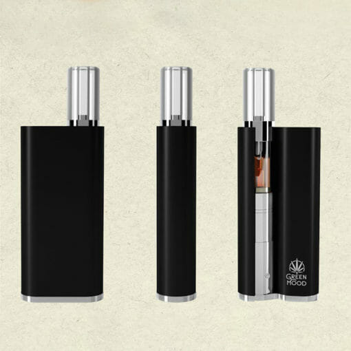 Vave diffuser with cartridge front and side view