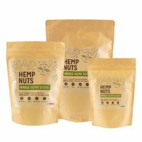 Whole Hemp Seeds by Hemp Company Dublin