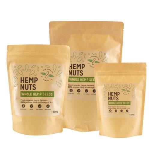 Whole Hemp Seeds by Hemp Company Dublin
