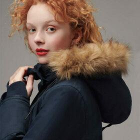 Ladies Designer Winter Nordic Parka by Hemp Tailors