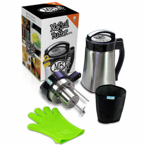 Magical Butter Immersion Blender, Gloves and Extractor.