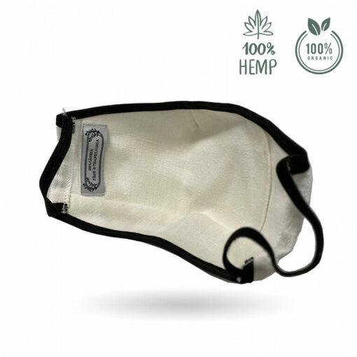 Reusable Hemp Fiber Face Mask Inside