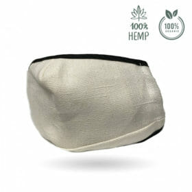 Reusable Hemp Fiber Face Mask by Dutch Natural Healing