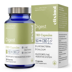 Digest CBD Capsules 150mg by Elixinol