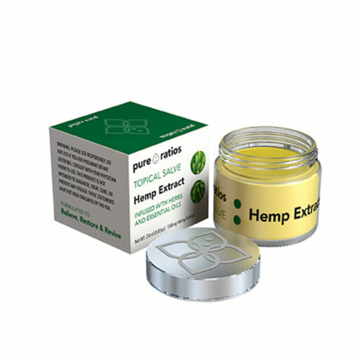 Hemp Extract Topical Salve Unboxed by Pure Ratios
