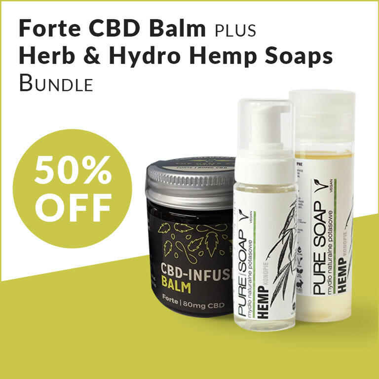 CBD Balm & Hemp Soap Bundle