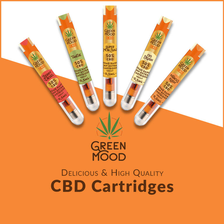 Green Mood CBD Cartridges
