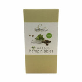 Salt & Herb Hemp Nibbles by Hanf Natur