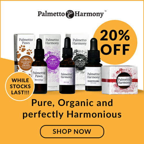 Palmetto Harmony 20% Off