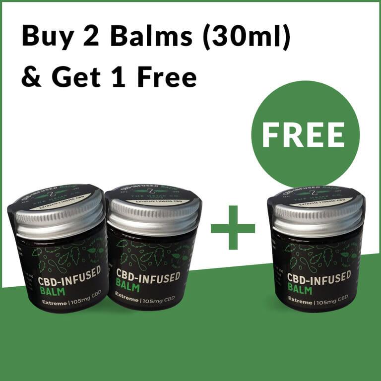 Buy 2 Get 1 Free Balm